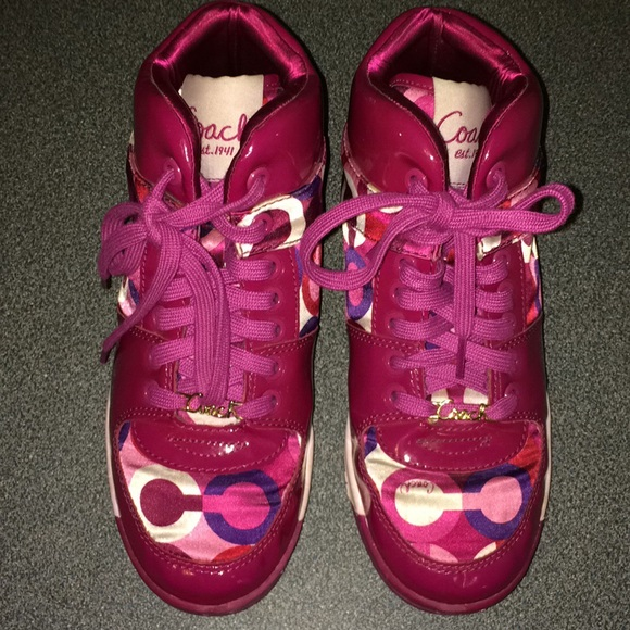 Coach Shoes - Coach Natalee high tops